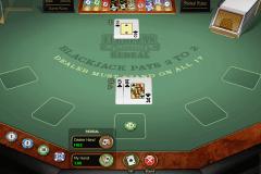 european blackjack redeal microgaming blackjack