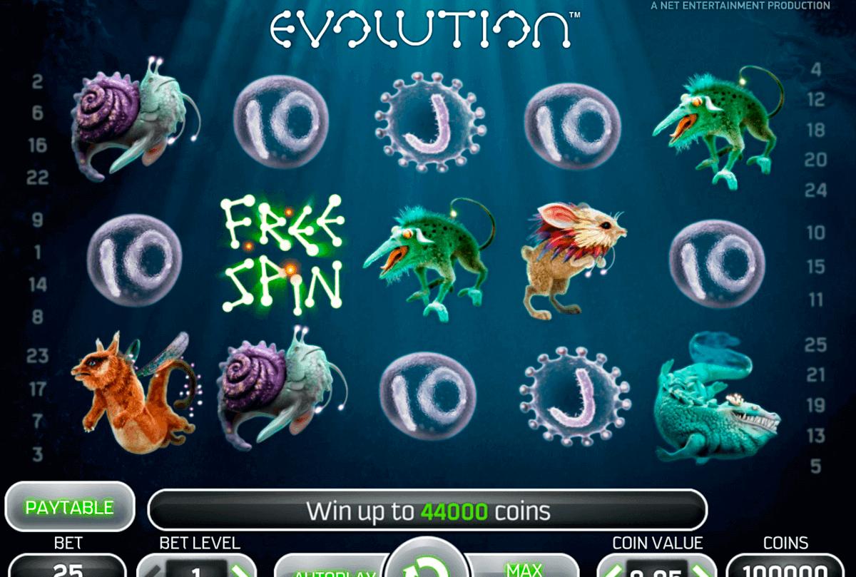 evolution netent spielautomaten