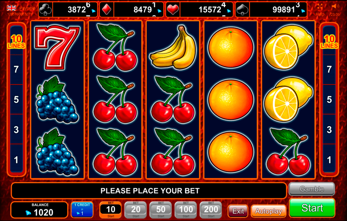 Spiele HOT Fruits - Video Slots Online