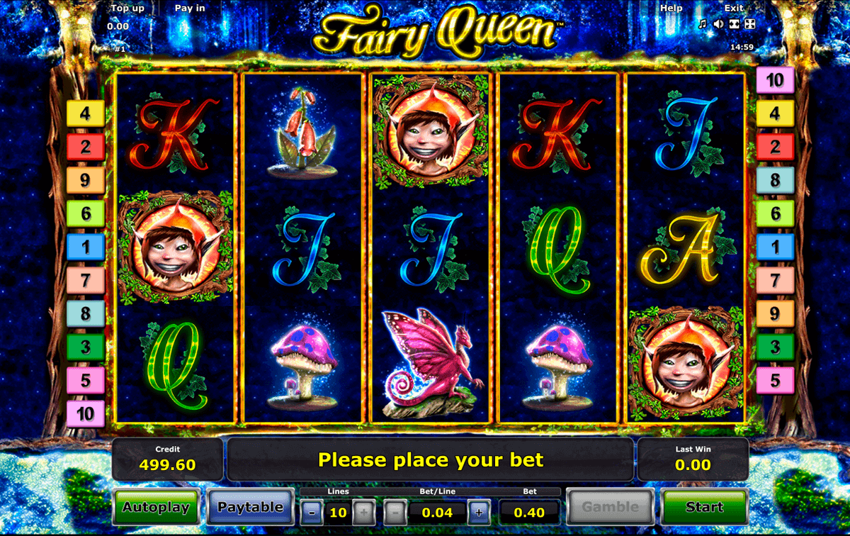 fairy queen novomatic spielautomaten