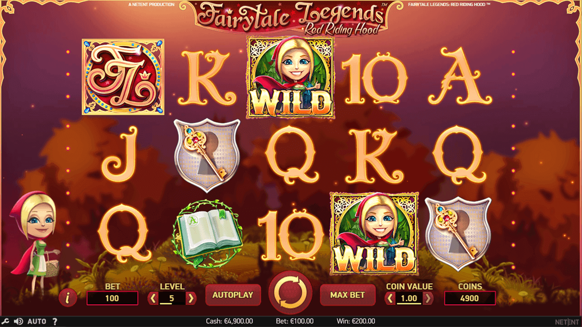 casino de online red riding hood online