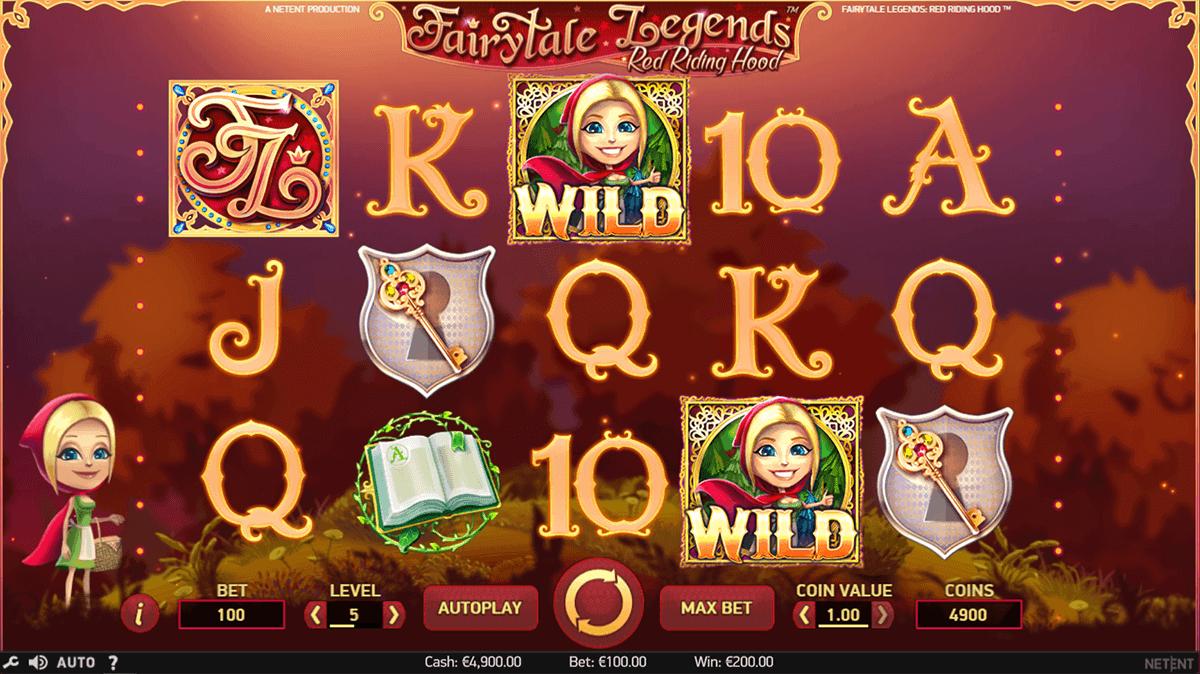 fairytale legends red riding hood netent spielautomaten