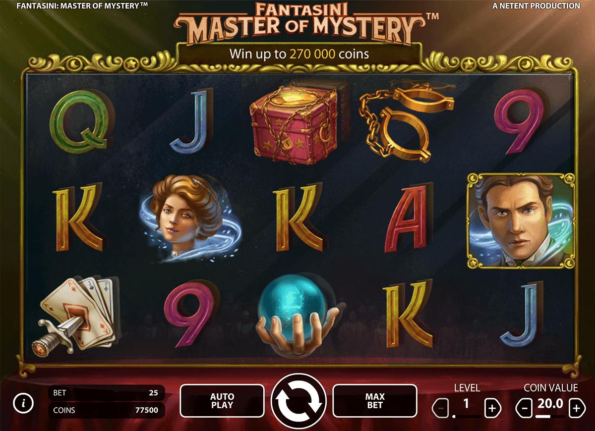 fantasini master of mystery netent spielautomaten