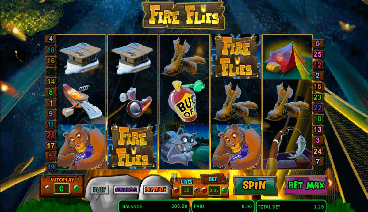 fire flies amaya spielautomaten