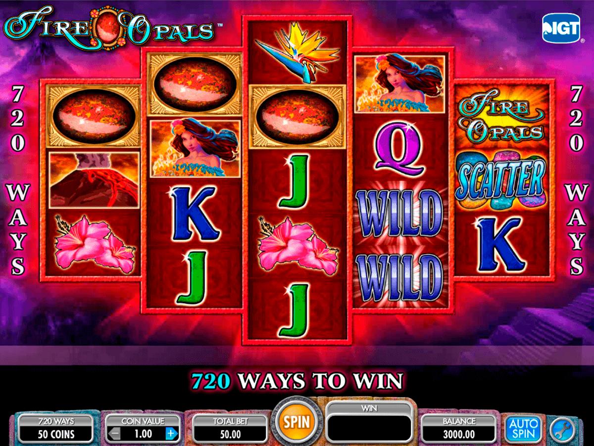 fire opals igt spielautomaten