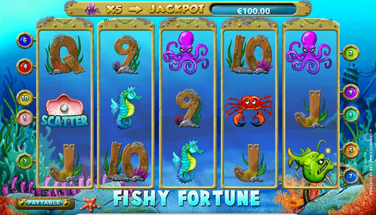 fishy fortune netent spielautomaten