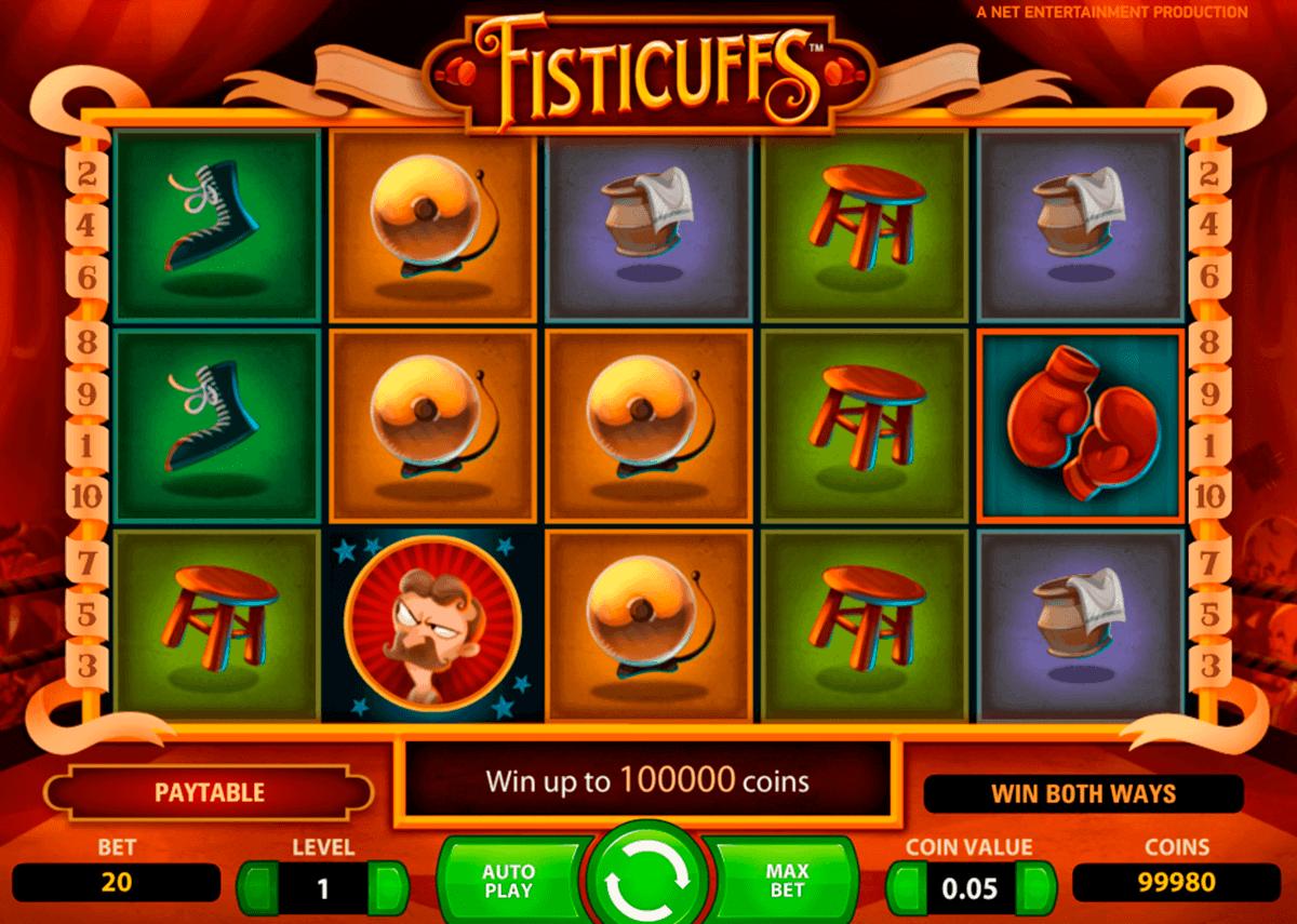 fisticuffs netent spielautomaten