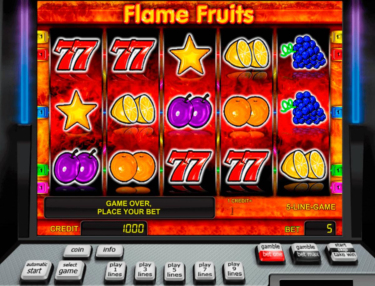 flame fruits novomatic spielautomaten
