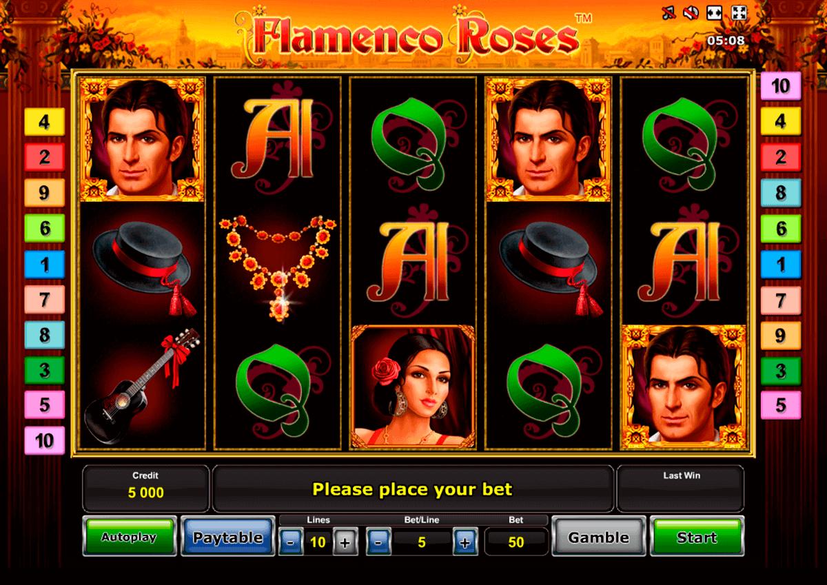 flamenco roses spielen