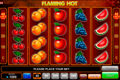 flaming hot egt spielautomaten