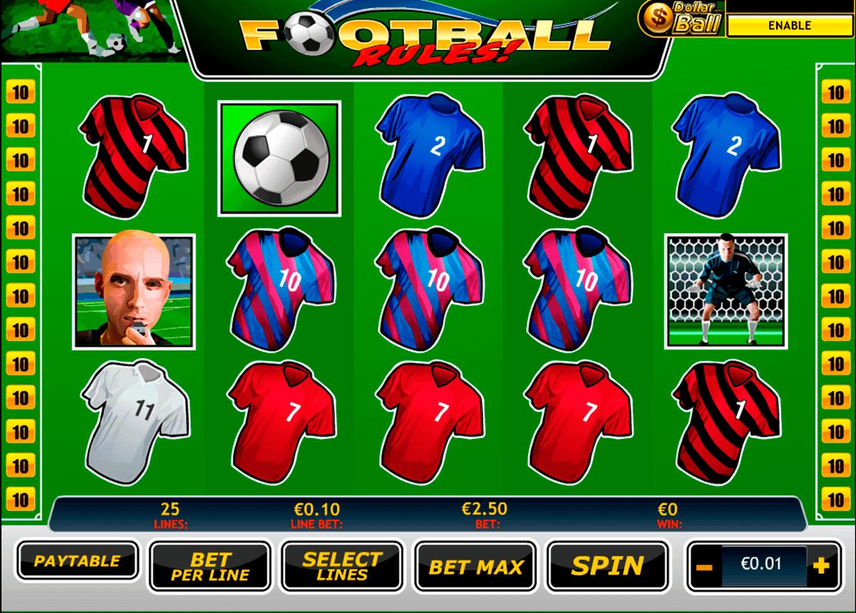 football rules playtech spielautomaten