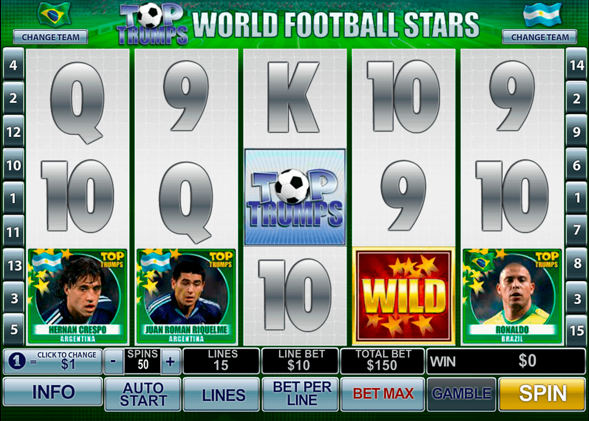 football stars playtech spielautomaten