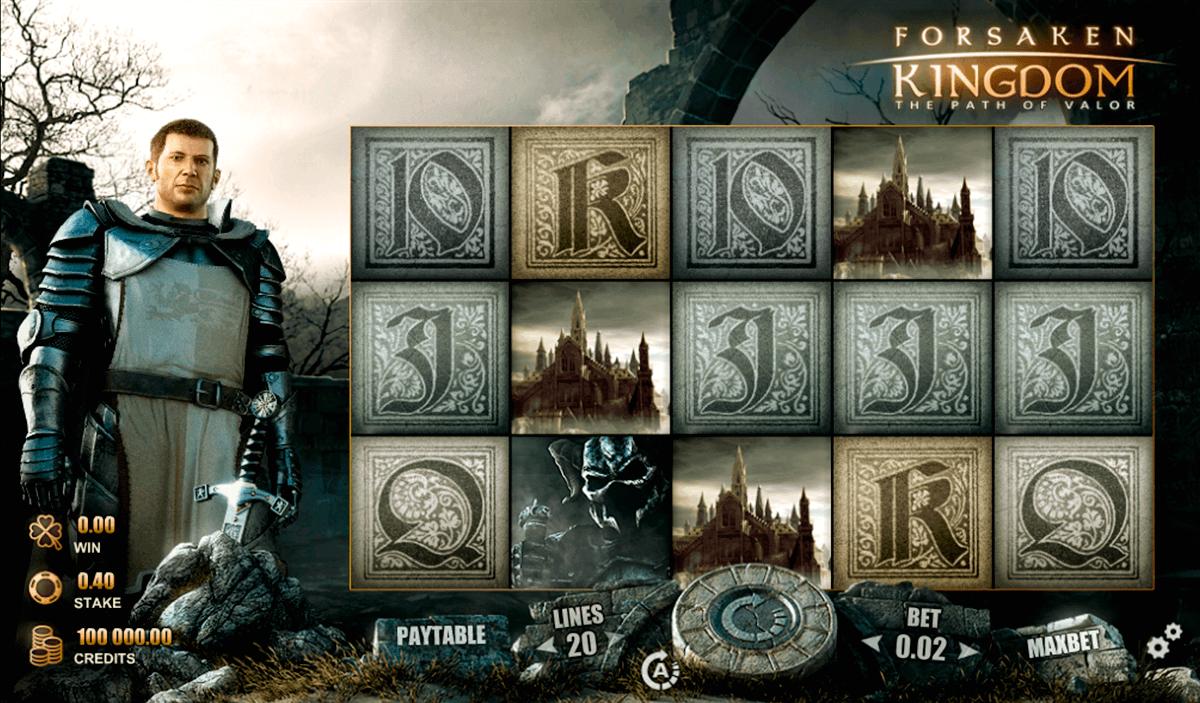 forsaken kingdom rabcat spielautomaten