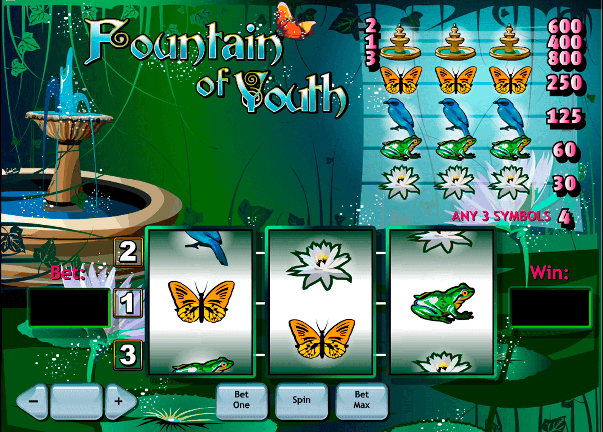 fountain of youth playtech spielautomaten