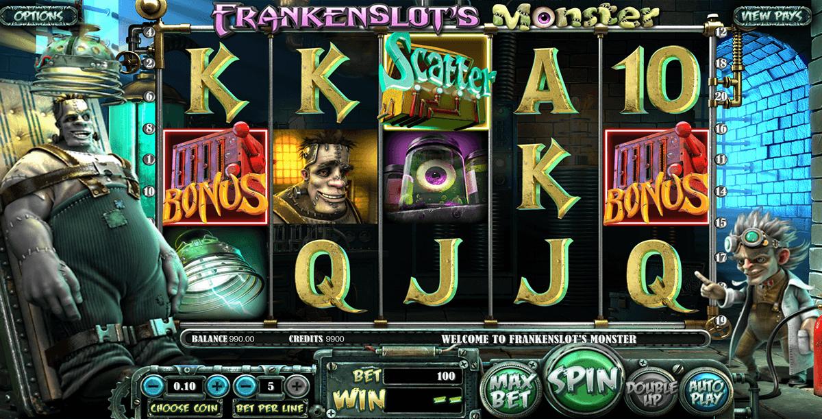 frankenslots monster betsoft spielautomaten
