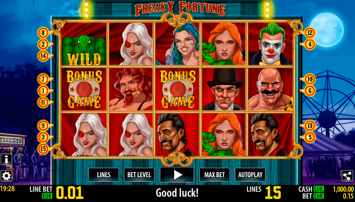 freaky fortune hd world match spielautomaten