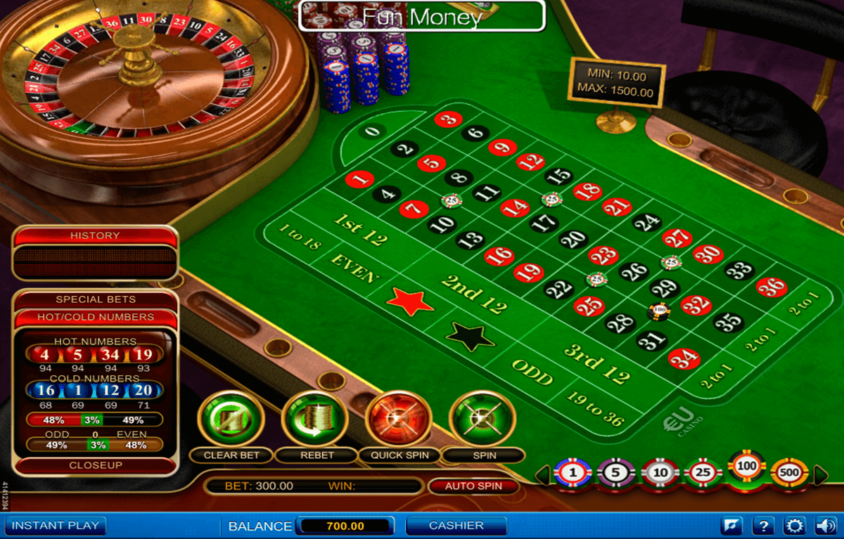Play Roulette Pro Online Roulette at Casino.com Canada