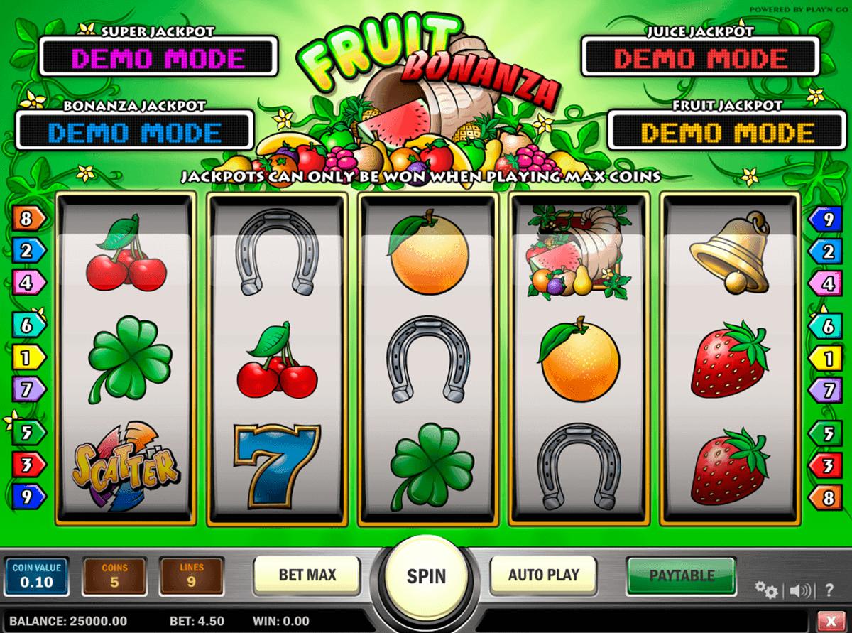 fruit bonanza playn go spielautomaten
