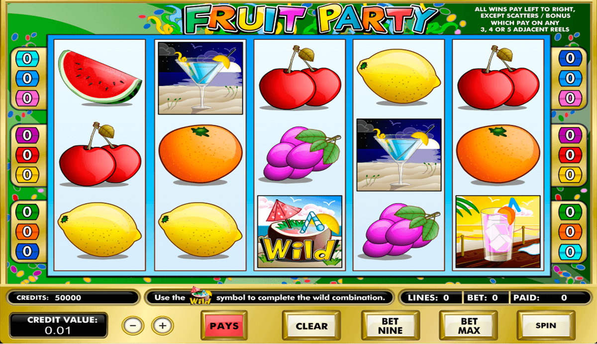fruit party amaya spielautomaten