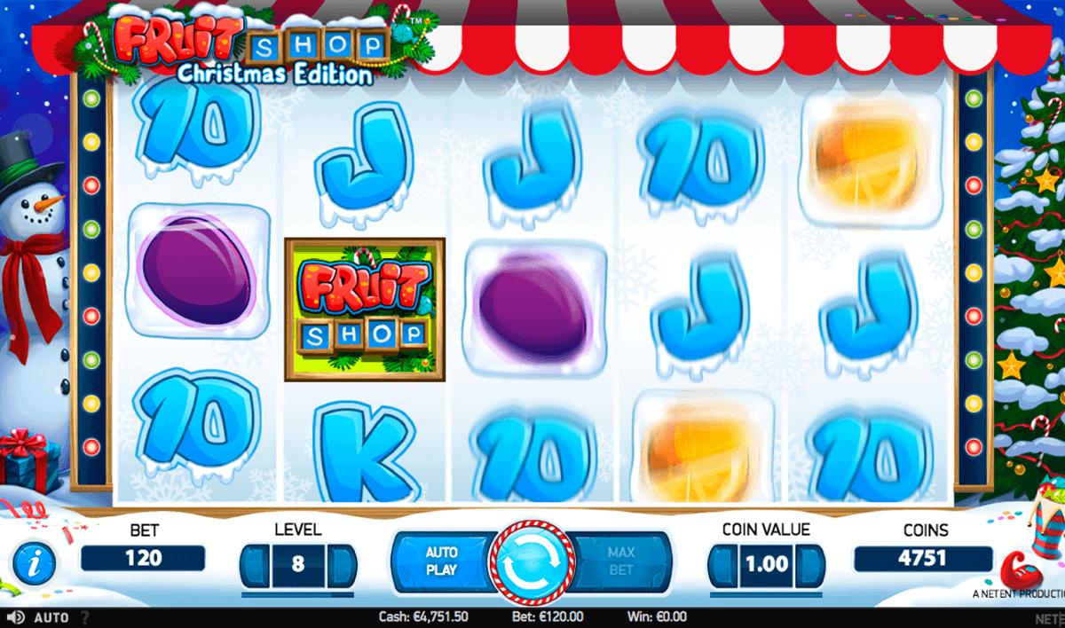 fruit shop christmas edition netent spielautomaten