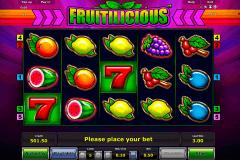fruitilicious novomatic spielautomaten