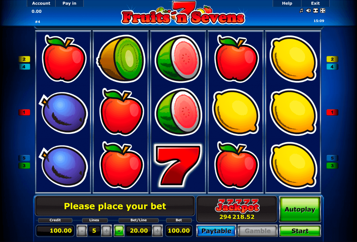 free casino play online spiele fruits