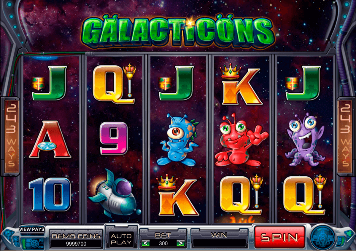 galacticons microgaming spielautomaten