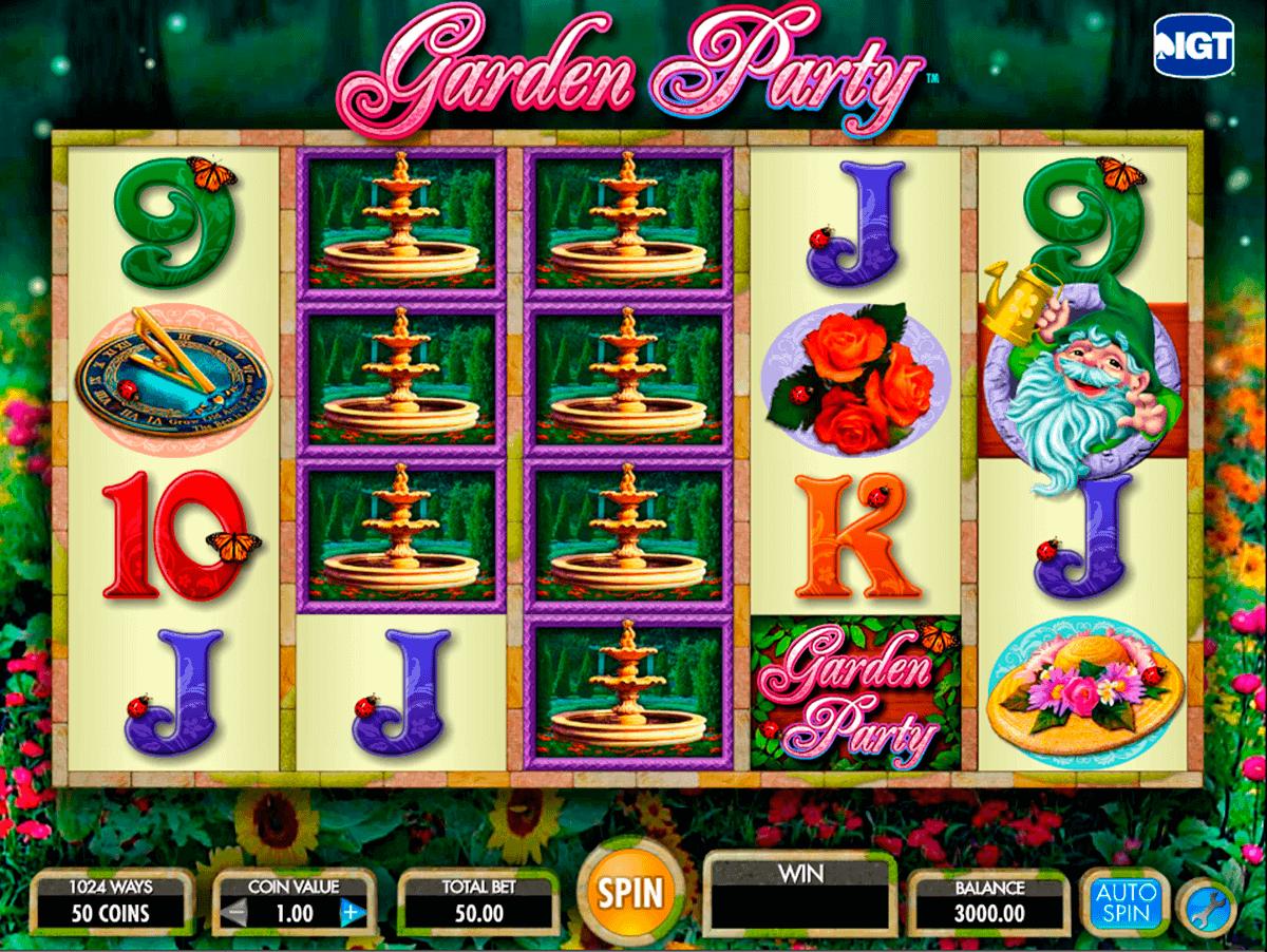 garden party igt spielautomaten