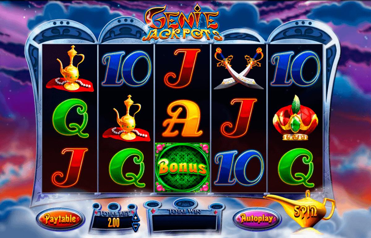 genie jackpots blueprint spielautomaten