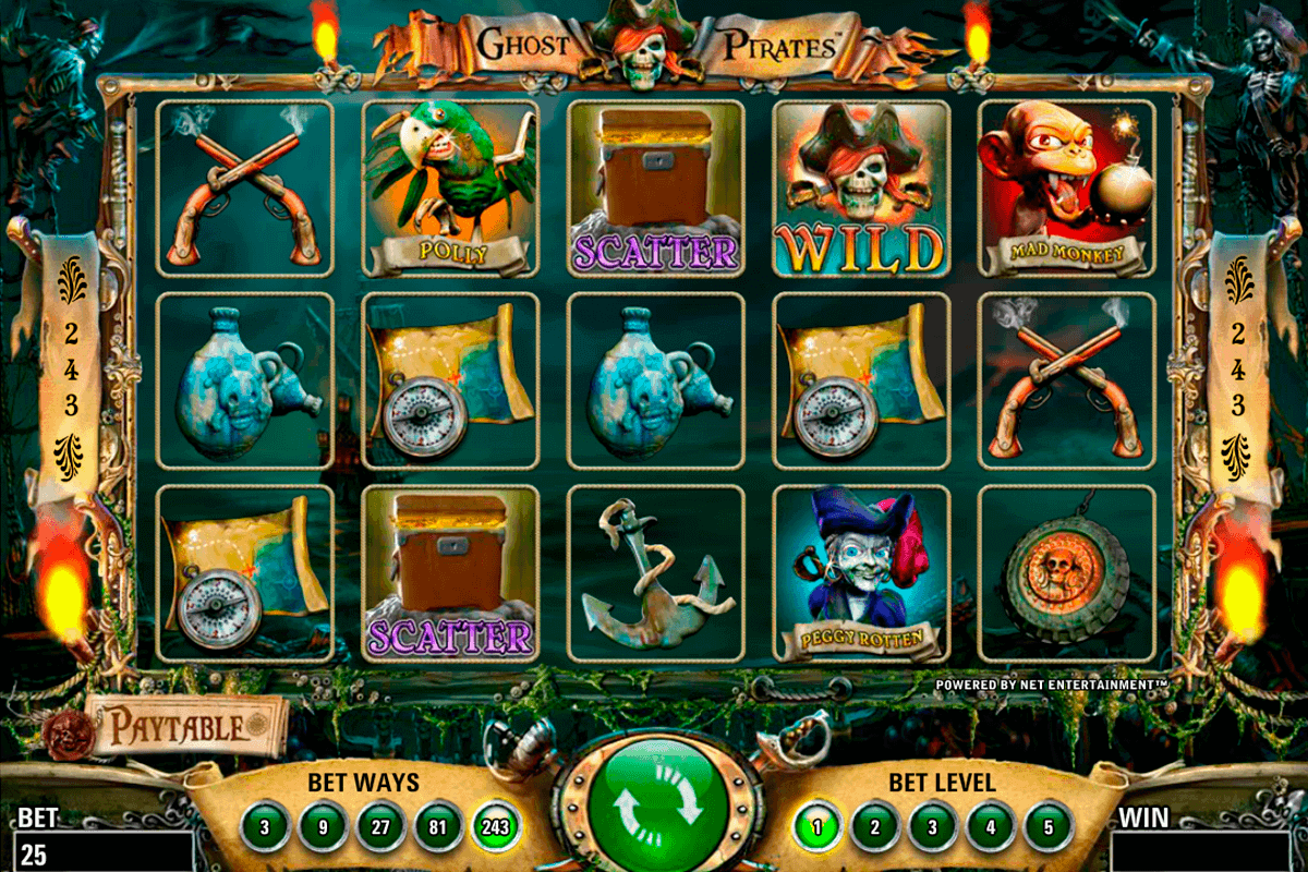 ghost pirates netent spielautomaten