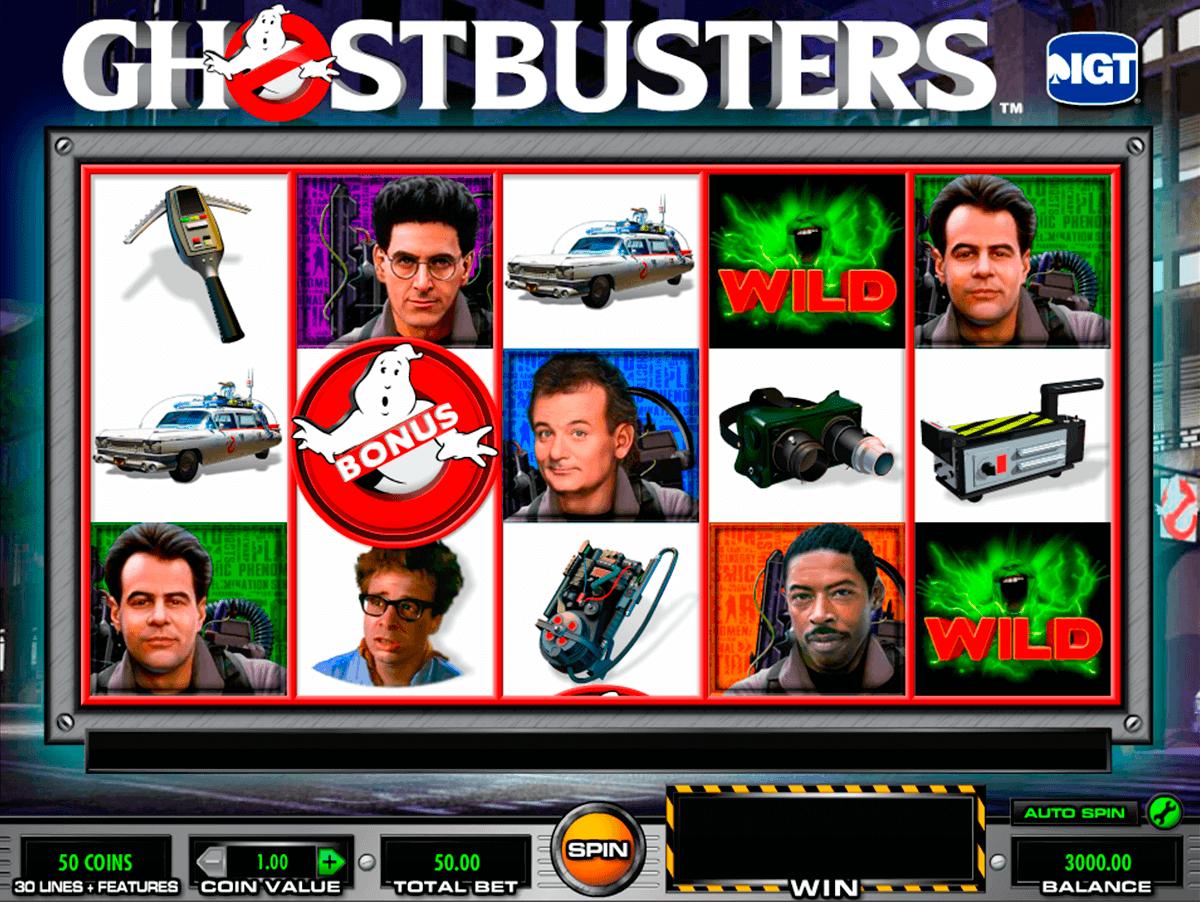 ghostbusters igt spielautomaten