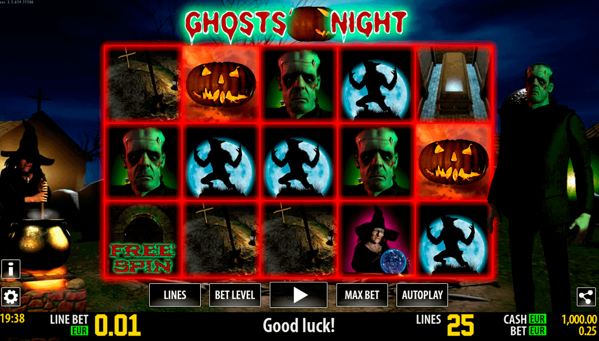 ghosts night hd world match spielautomaten