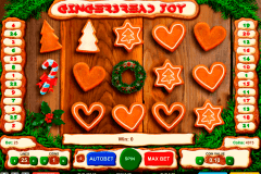 gingerbread joy gaming spielautomaten