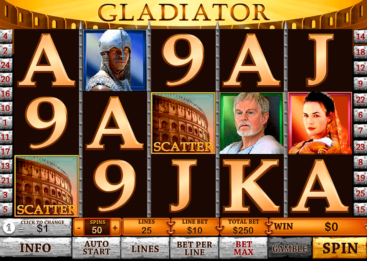 gladiator playtech spielautomaten