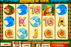 goddess of life playtech spielautomaten