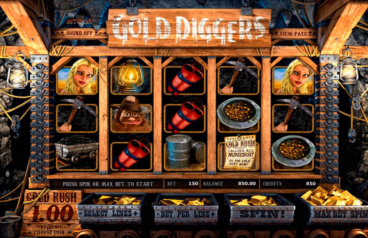 gold diggers betsoft spielautomaten