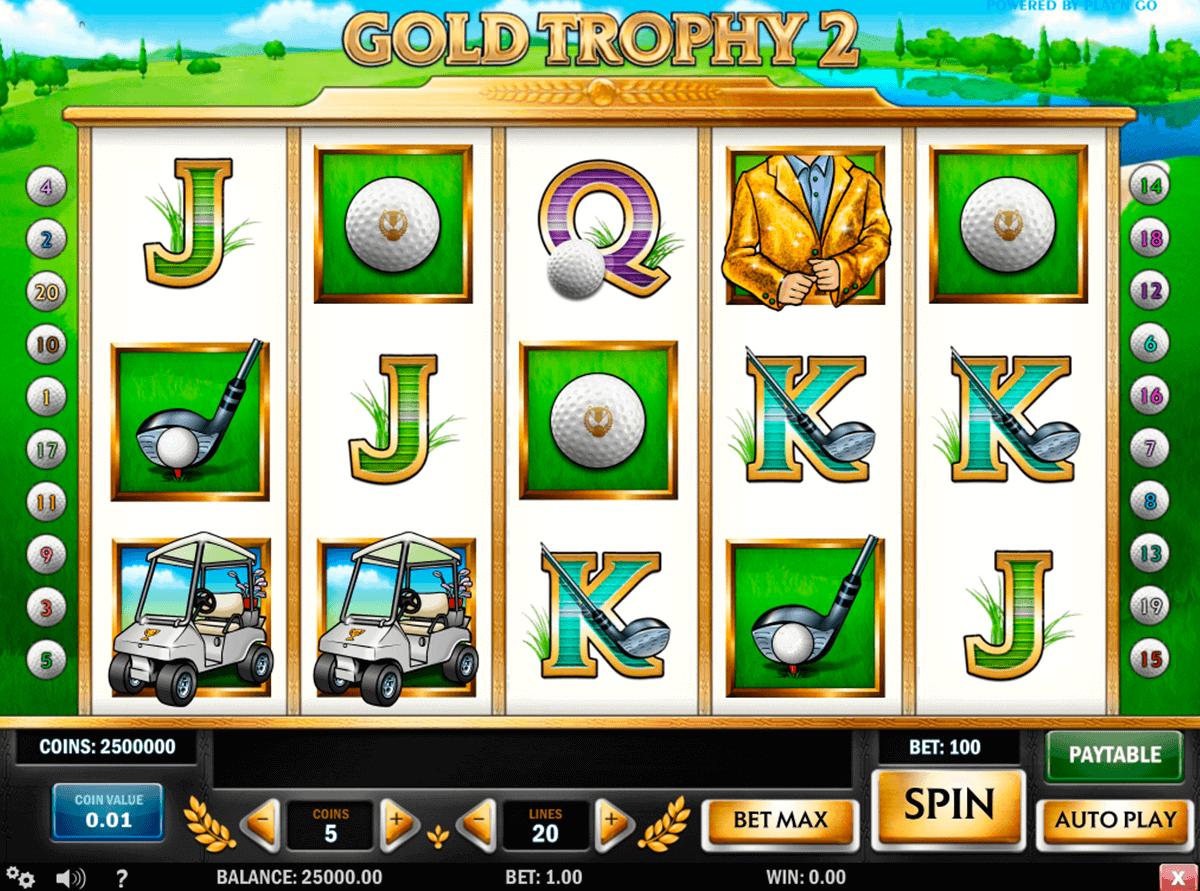 gold trophy  playn go spielautomaten