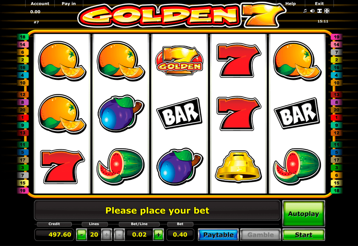 golden 7 novomatic spielautomaten