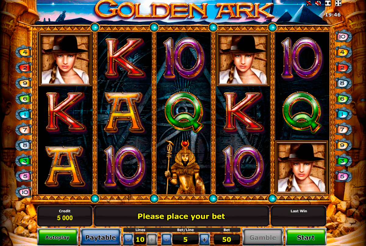 golden ark novomatic spielautomaten