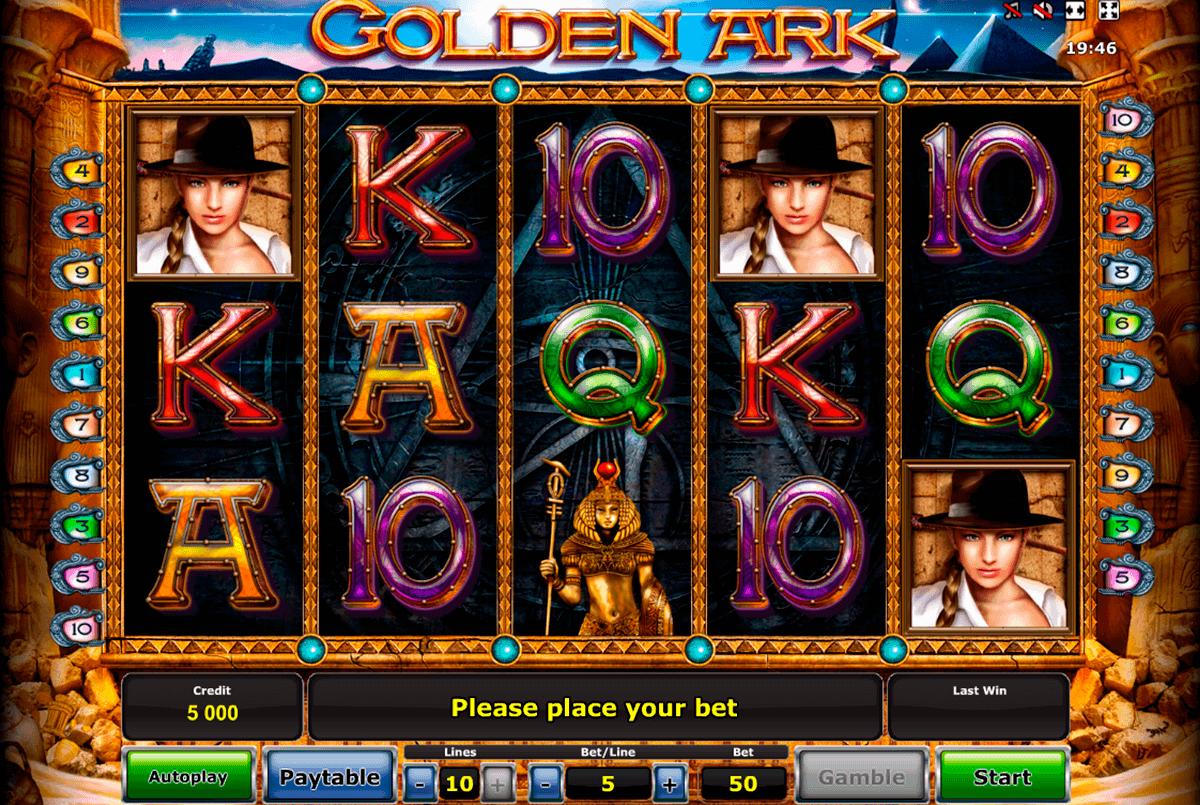 golden ark novomatic spielautomaten