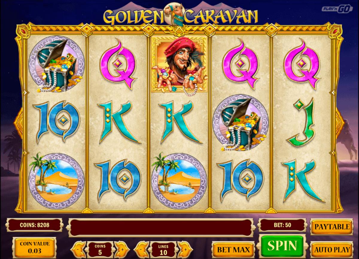 golden caravan playn go spielautomaten