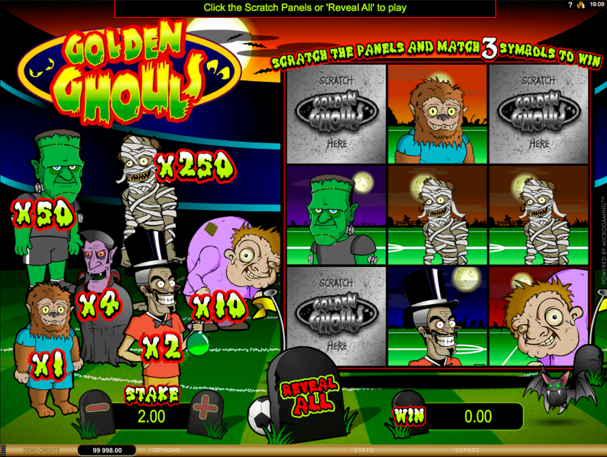 golden ghouls microgaming rubenllose