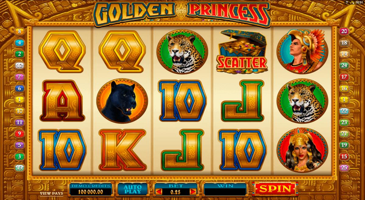 golden princess microgaming spielautomaten