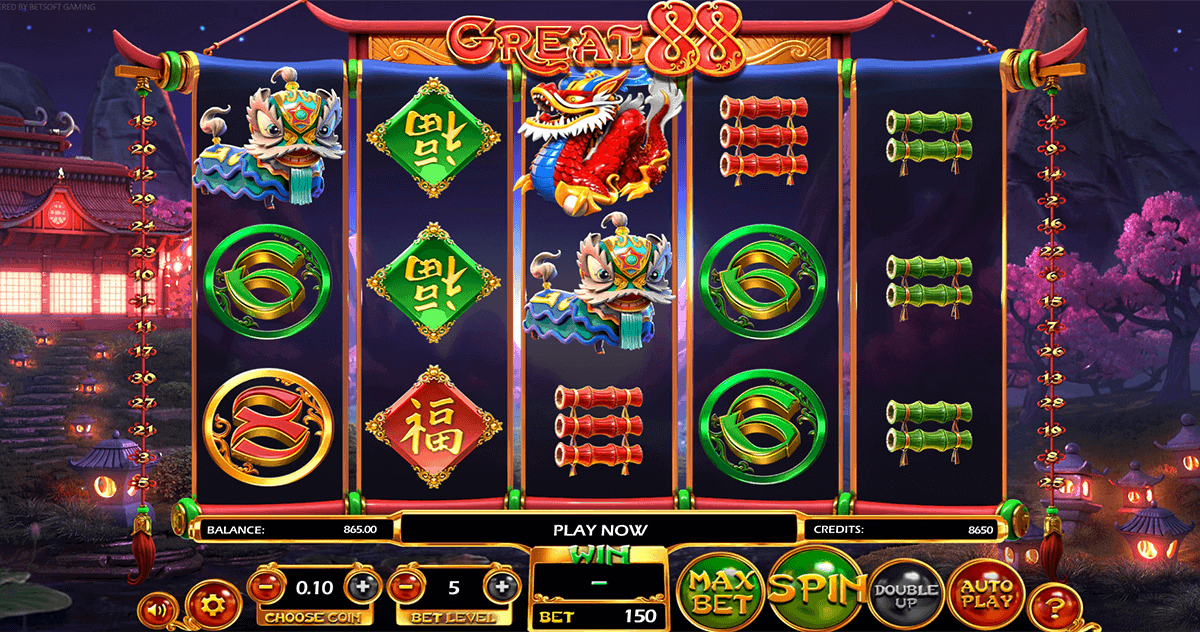 great 88 betsoft spielautomaten