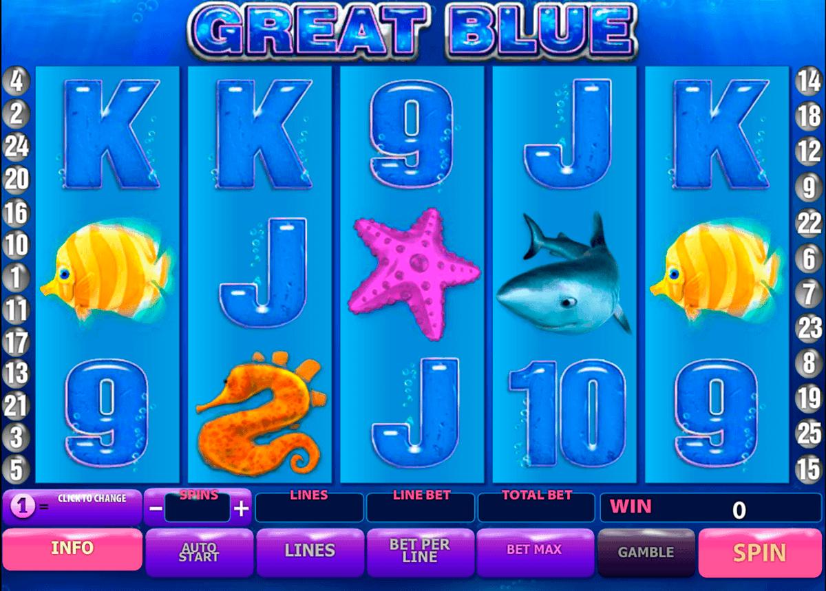 great blue playtech spielautomaten
