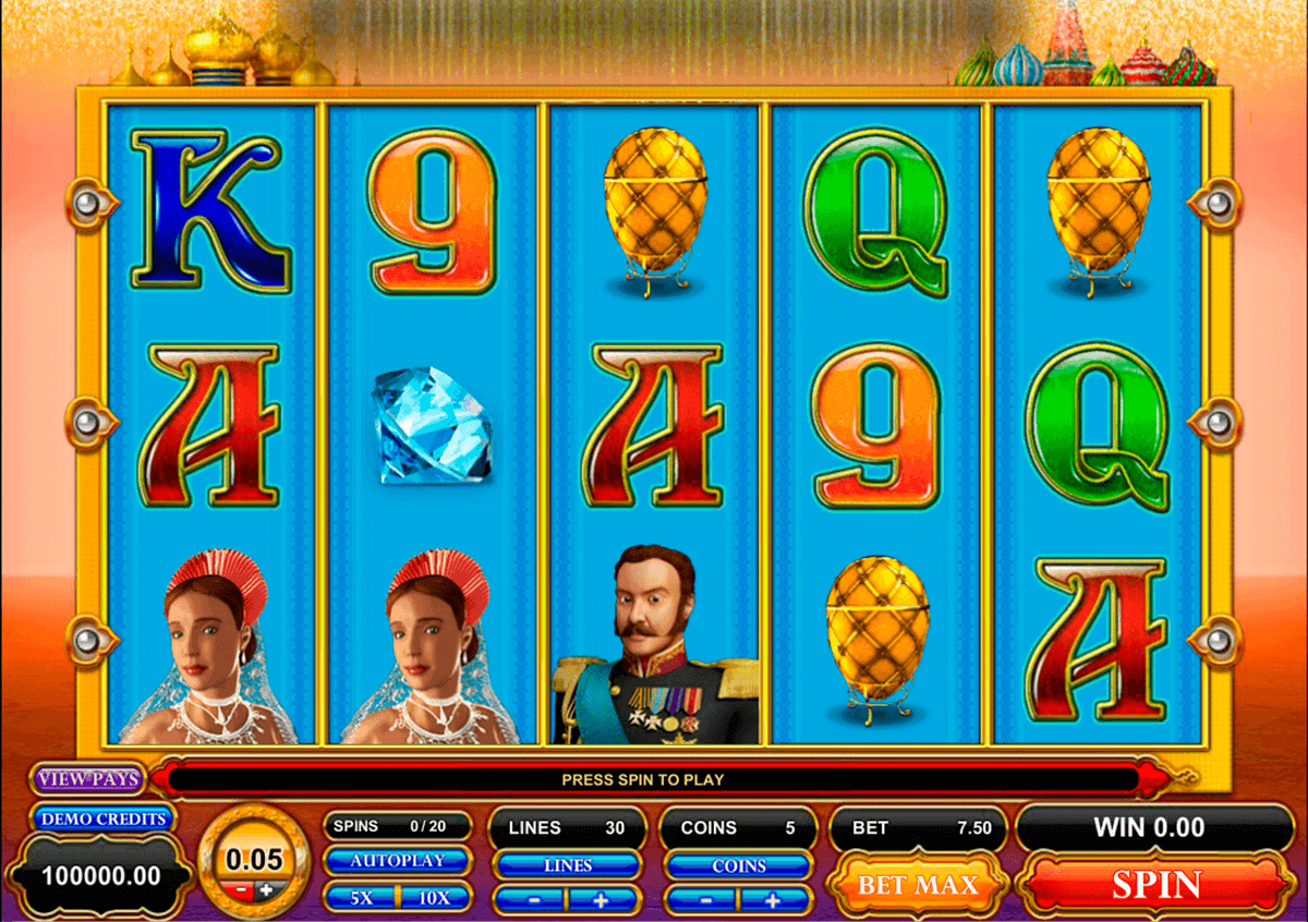 great czar microgaming spielautomaten