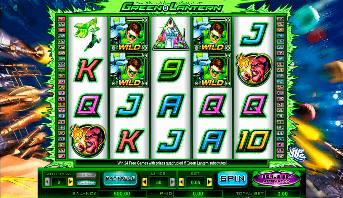 green lantern amaya spielautomaten