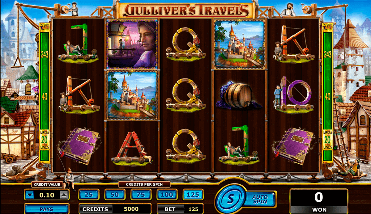 gullivers travels amaya spielautomaten