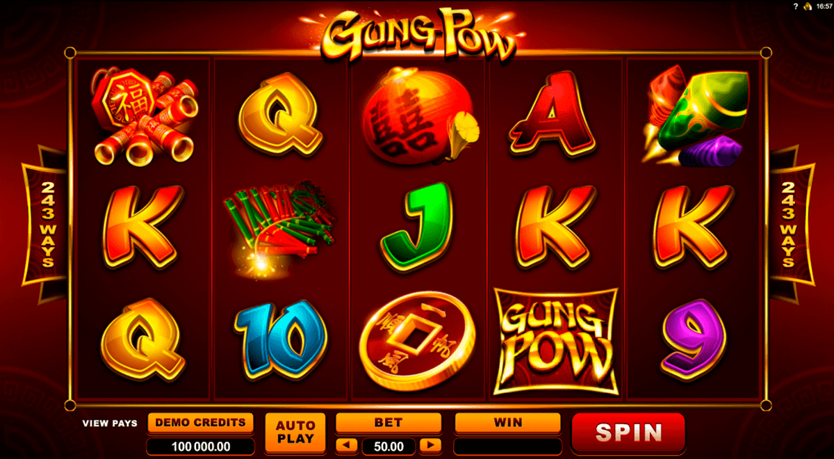 gung pow microgaming spielautomaten