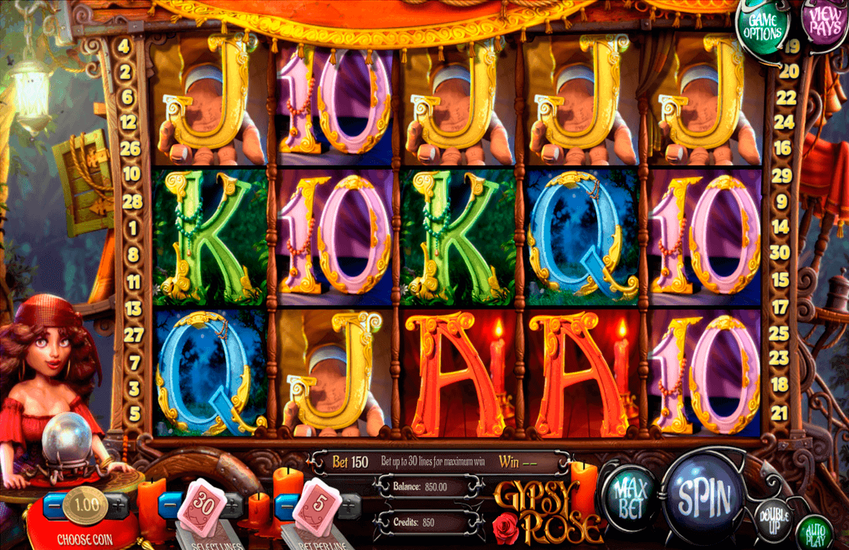 gypsy rose betsoft spielautomaten